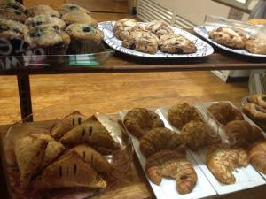 Blueberry Muffins, Scones, Turnovers, Croissants